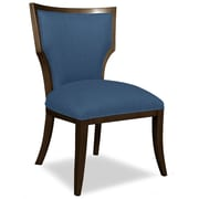Tory Furniture Divine Ashley Side Chair; Me Navy