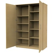 Marco Group Mobile CaseGoods 2 Door Storage Cabinet; Fushion Maple