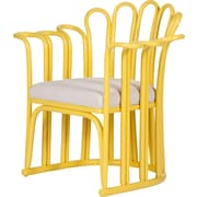David Francis Furniture Calla Occasional Chair; Sunflower Yellow