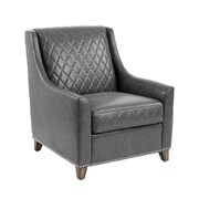 Sunpan Modern 5West Bergamo Arm Chair; Ash Grey