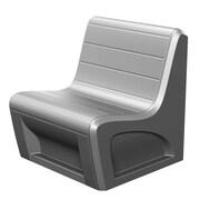 Cortech USA Sabre Stacking Chair; Gray