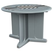 Cortech USA Endurance 29'' Round Game Top Table; Blue/Gray