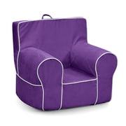 KidzWorld Kids Foam Chair; Purple