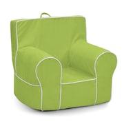 KidzWorld Kids Foam Chair; Lime Green