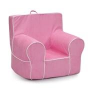 KidzWorld Kids Foam Chair; Light Pink