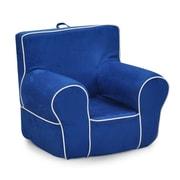 KidzWorld Kids Foam Chair; Blue