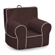 KidzWorld Kids Foam Chair; Chocolate