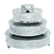 Urban Designs Event Essentials 4 Piece Round Wedding Cake Stand Set