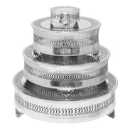 Urban Designs Event Essentials Round 4 Tier Wedding Cake Stand