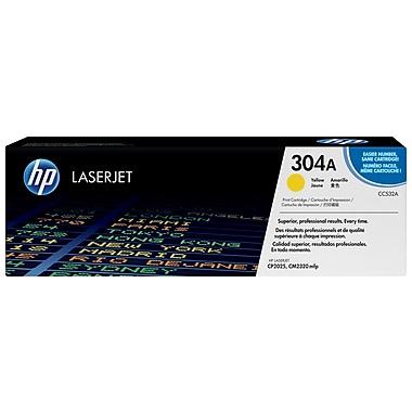 HP 304A (CC532A) Cartouche de toner HP LaserJet jaune d'origine