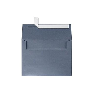 LUX A7 Invitation Envelopes (5 1/4 x 7 1/4) 500/Box, Anthracite Metallic (5380-15-500)
