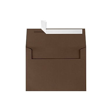 LUX A7 Invitation Envelopes (5 1/4 x 7 1/4) 500/Box, Chocolate (EX4880-17-500)