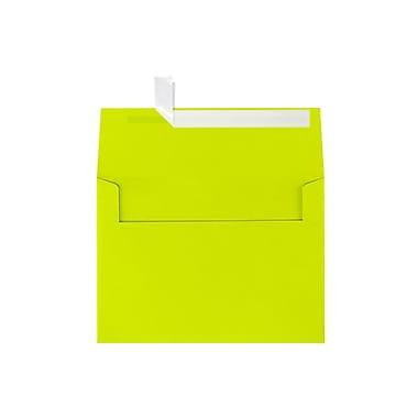 LUX A7 Invitation Envelopes (5 1/4 x 7 1/4) 250/Box, Wasabi (FE4280-22-250)