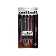 Uni ball 207 BLX Gel Pens, Medium Point, Assorted, 4/Pack (1838182)