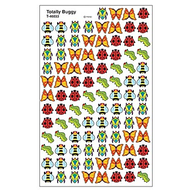 Trend Enterprises® SuperShapes Stickers, Totally Buggy