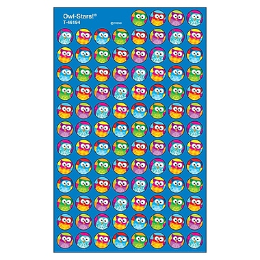 Trend Enterprises® Stickers, SuperSpots Owl-Stars