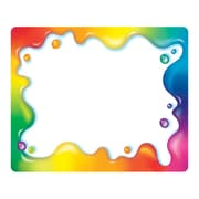 Trend Enterprises® pre-kindergarten - 9th Grades Name Tag, Rainbow Gel