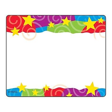Trend Enterprises® Pre Kindergarten - 9th Grades Name Tag, Stars n Swirls