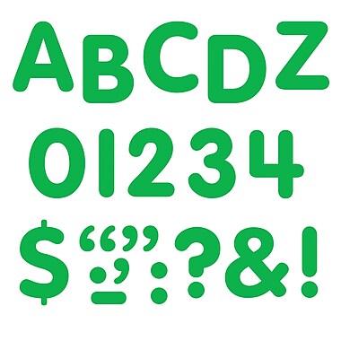 Trend Enterprises® STICK-EZE® Letter, Number and Mark Set, 1