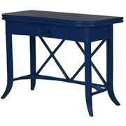 David Francis Furniture Writing Desk; Navy Blue