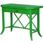 David Francis Furniture Writing Desk; Pacific Blue