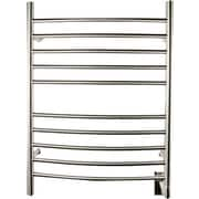 Amba Wall Mount Electric Towel Warmer; Brushed