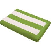Lunasidus Luxury Striped Beach Towel; Light Blue
