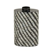Cole & Grey Lacquer Shell Inlay Vase; 13'' H x 9'' W x 6'' D
