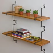 Aderet Decorative Double Accent Shelf