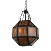 CrystalWorld Dvina 3-Light LED Geometric Pendant