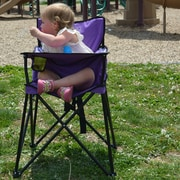 Ciao! Baby Portable Kids Chair; Purple