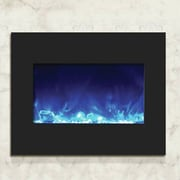 Amantii Zero Clearance Wall Mount Electric Fireplace; 23'' H x 29.25'' W x 8.5'' D