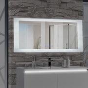 MTDVanities Encore LED Illuminated Bathroom Wall Mirror w/ Built-In Bluetooth Audio Speaker