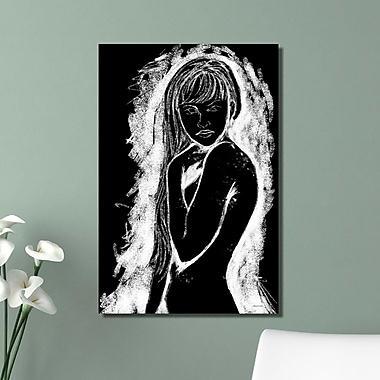 Maxwell Dickson ''Cave Girl'' Painting Print on Canvas; 48'' H x 36'' W