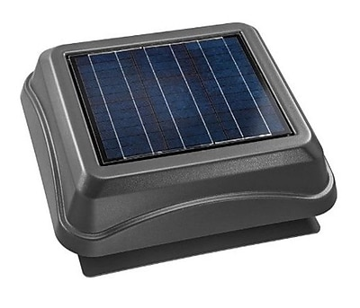 Broan Surface Mount Solar Powered 537 CFM Attic Ventilator WYF078279340919