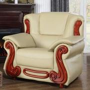 Meridian Furniture USA Bella Arm Chair; Khaki