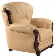 Meridian Furniture USA Mina Arm Chair; Camel