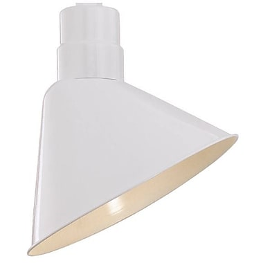Millennium Lighting R Series 12'' Metal Empire Wall Sconce Shade; White