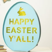 Glitzhome Marquee LED Lighted Easter Battery Operated Wall Decor