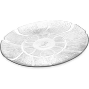"""Carlisle  Petal Mist® Plate, 12-13/16"""", Clear (694207)"""