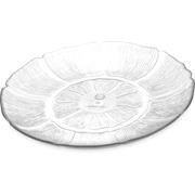"""Carlisle  Petal Mist® Plate, 8-7/8"""", Clear (695607)"""