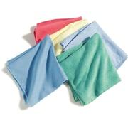 "Carlisle  Terry Microfiber Cleaning Cloth, 16"" x 16"", Green (3633409)"