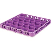 Carlisle  OptiClean™ NeWave™ Color-Coded Short Glass Rack Extender, 30 Compartment, Lavender (REW30SC89)
