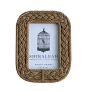 Shiraleah Braided Rope Picture Frame