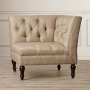 Darby Home Co Mercer Jack Club Chair; Antique Gold