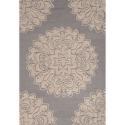 Charlton Home Norton Polyester Hand Tufted Area Rug; 2' x 3' by