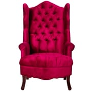 TOV Madison Wing Chair; Pink
