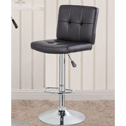 United Chair Industries LLC 24.7'' Swivel Bar Stool; Black