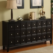 Coast to Coast Imports Canaan 4 Door Accent Cabinet