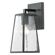 Living District 1-Light LED Outdoor Sconce; 11.75'' H x 5'' W x 6'' D